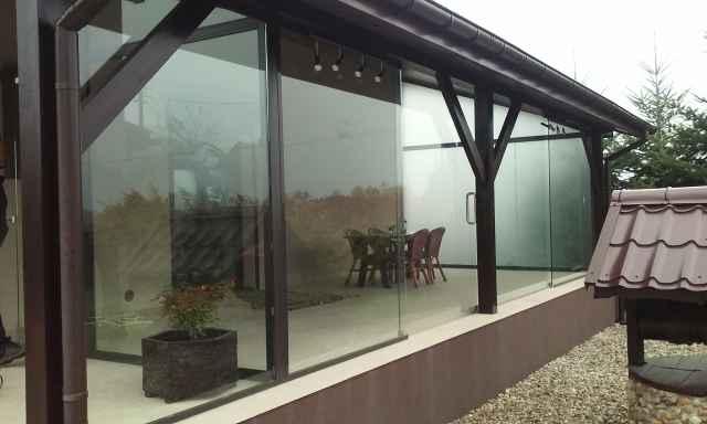 Drzwi szklane i elementy ze szkła